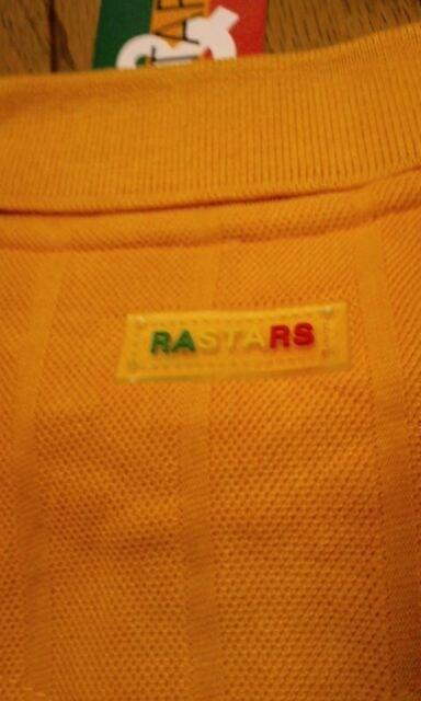 RASTARS★デザインワンポイントカノコポロシャツ 辛子色 サイズXL→XXL2XL位 < 男性ファッションの