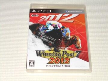 PS3★ウイニングポスト7 2012★箱付・説明書付・ソフト付