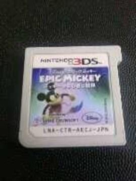 3DS/ディズニーEPICMICKEY[エピックミッキー〜ミッキーのふしぎな冒険]ソフトのみ