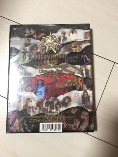 L'Arc-en-ciel☆DOCUMENTARY FILMS~TransASIAviaPARIS~☆DVD < タレントグッズの