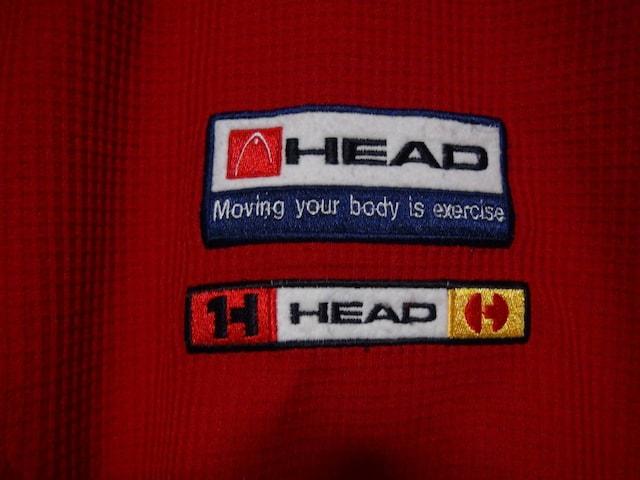 HEADのポロシャツ(LL)赤!。 < 男性ファッションの