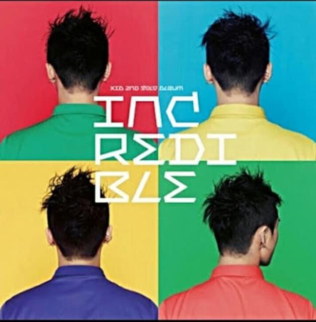 JYJ ジュンス 正規 2集 アルバム「 INCREDIBLE 」 CD  < タレントグッズの