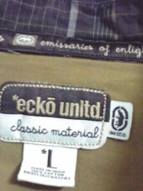 エコー チェックシャツ クラシック < ブランドの