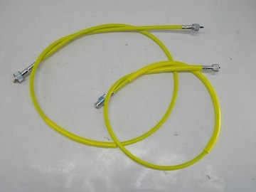 (2059)RZ250RZ350黄色メーターケーブルセット