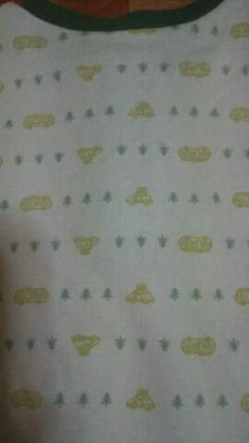 ★ 未使用 カワイイ シャツ サイズ70 子供用 涼しげ● < キッズ/ベビーの