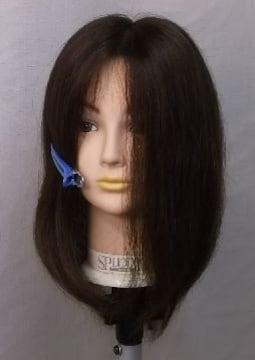 風に強い 人毛  部分カバ- BIGサイズ 普通色