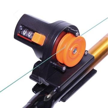 デプスチェッカー 釣り具 アクセサリー ブラック