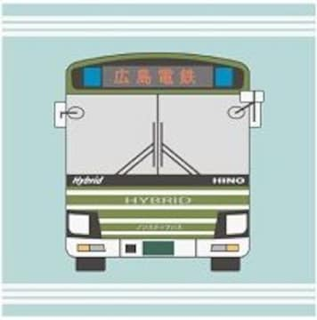 ☆新品☆広島電鉄≪広電バス≫コットン製ハンドタオル♪