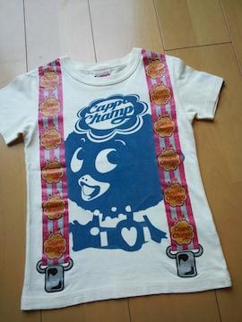 中古カッパつりバンTシャツ120キナリ?JAM