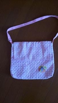 絵本袋ショルダープリキュアピンク色