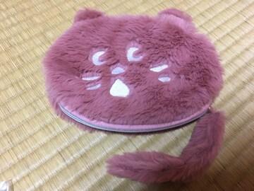 ☆非売品☆にゃー☆フェイスポーチ&ペンケース☆