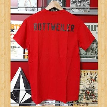ROTTWEILER ロットワイラー Tシャツ RED S