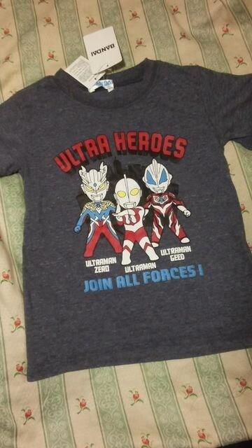 新品未使用ウルトラ ヒーローズ半袖 Tシャツウルトラマンゼロジード  < キッズ/ベビーの
