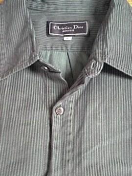 Christian Dior 長袖シャツ クリスチャンディオール L-XLサイズ 即決
