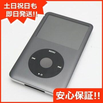 ●安心保証●美品●iPod classic 第6世代 160GB ブラック●