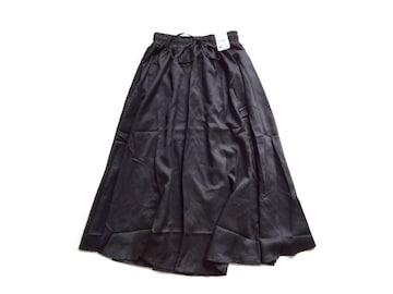 新品 定価5900円 AS KNOW AS アズノゥアズ 黒   スカート