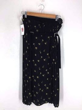 CLANE(クラネ)SIDE PLEATS BELT SKプリーツスカート