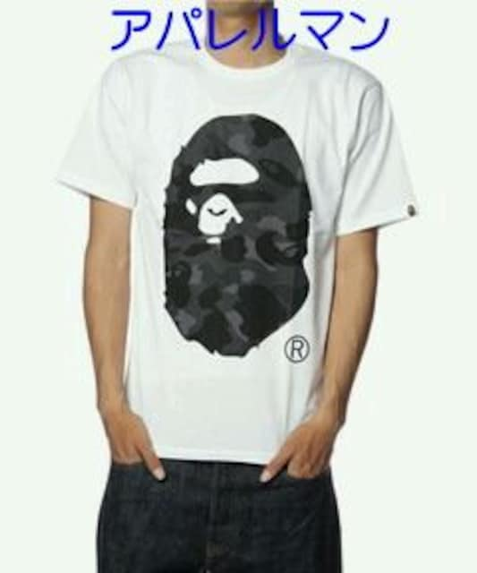†APE†猿迷彩†大猿HEAD†Tシャツ†  < ブランドの