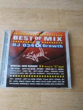 ★【CD】 BEST OF MIX DJ034&Growth 全39曲 ベストオブミックス★