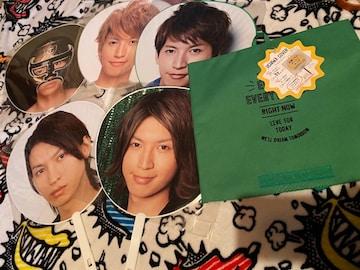 大倉忠義くん 関ジャニ∞ うちわ5本+うちわカバー緑1枚
