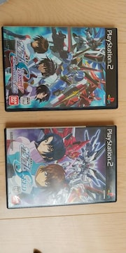 PS2 ガンダムSEEDとSEED DESTINYの2本セット