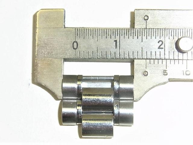 オメガOMEGA紳士時計スピードマスター16mm用SS純正2駒 2コマ a < ブランドの