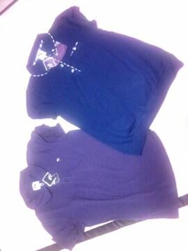 新品二枚組半袖シャツ