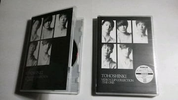東方神起◆TOHOSHINKI VIDEO CLIP COLLECTION -THE ONE-