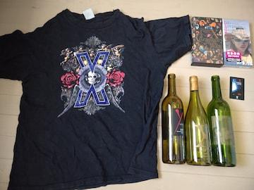 X JAPAN まとめ売り Tシャツ 空き瓶 未開封VHS 新品未使用テレカ