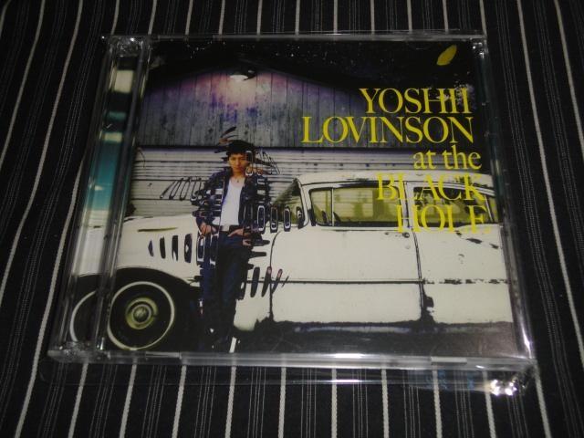 YOSHII LOVINSON『AT THE BLACKHOLE』初回盤 美品(吉井和哉)  < タレントグッズの