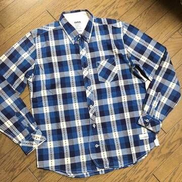 美品JUNMEN 星刺繍デザインシャツ ジュンメン