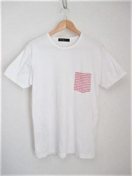 ☆roar ロアー 2丁拳銃 デザイン Tシャツ 半袖/メンズ/3(L)☆ホワイト