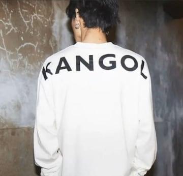 KANGOL 長袖シャツ フリーサイズ