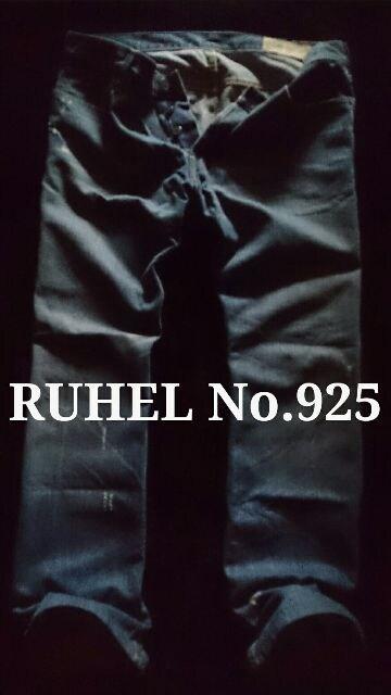 【RUEHL No.925】USA製 Vintage Premium デストロイジーンズ 36/M.Wash  < ブランドの