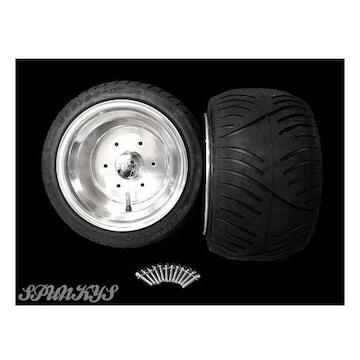 ホンダ ジャイロX ディッシュホイール 扁平タイヤ