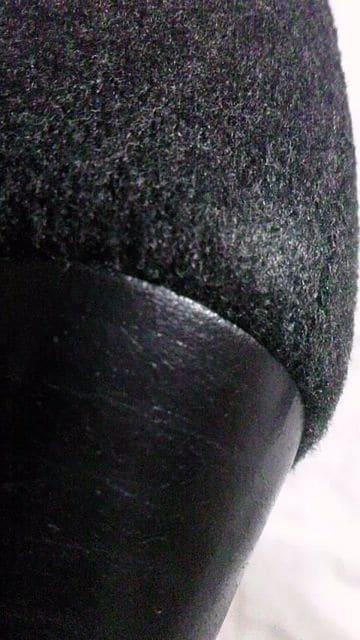 BODY DRESSING〓ウールスエード風レザー&太ヒールミドル丈ブーツ〓ダークグレー 22cm < ブランドの