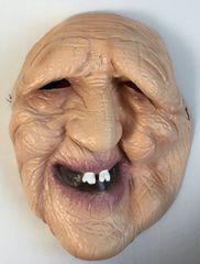 恐怖ホラーマスク 老婆のお面 老人マスク