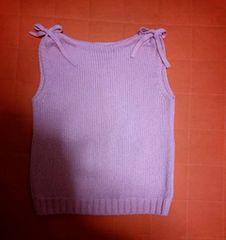バーバリーブルーレーベルリボン付きセーター