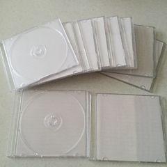 CD DVDスリム収納ケース10枚