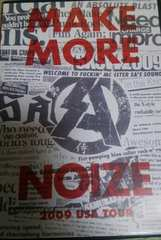 DVD SA(エスエー)MAKE MORE NOIZE 2009 USA TOUR