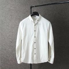 C1S62長袖デニムシャツ メンズ  カジュアルシャツ ストレッチXL