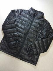 ●UNIQLO● ダウン ジャケット ブラック  150