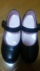美品。入園入学用黒シューズ。20cm