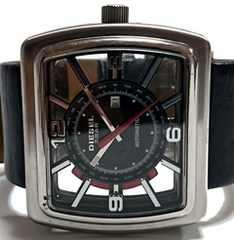 極レア DIESEL ディーゼル【自動巻】極希少 大型 メンズ腕時計