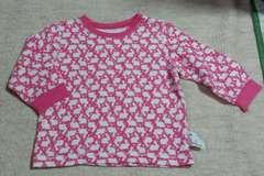ユニクロのキルト素材のパジャマ☆size100