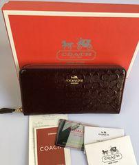 COACH コーチ F54805 長財布 レディースサイフアウトレット