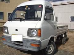 激安売切、超希少ハイルーフ昭和サンバー4WD車検満タン4MT