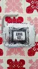 新品*未使用 ANNA SUI*アナスイ  スパンコールポーチ