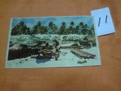 外国の古い絵葉書 「ブラジルのイタポアン」 (11)