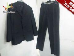 タケオキクチ シングルスーツ 3 メンズ 黒×ダークグレー